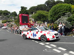 Tour de France Caravan, High Bradfield (Dave_Johnson) Tags: sheffield parade caravan tourdefrance bradfield highbradfield southyorkshire granddepart granddpart ctedebradfield
