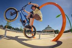 Fisheye contest, Landon Ramirez (Graham Howe Photos) Tags: ice bike canon tooth photography 50mm bmx bikes hangover fisheye tokina skatepark lane lampman 500ex 60d yongnuo 622c