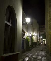 Sevilla Corridor (San Diego Shooter) Tags: longexposure architecture night lights sevilla spain europe seville nightphotographysevillaspain nathanrupertspain2014nobull nathanrupert2014spainwithbull