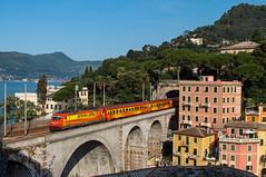 E 484 901 AW (Enrico Bavestrello) Tags: nikon italia liguria trains trainspotting treni zoagli e484 e484901 nikond5000 arenaways e484aw