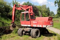 Rder Wasserbau Atlas 1604. (lorryenthusiast) Tags: tractor traktor atlas excavator trecker bagger deutz 1604 rder fahr wasserbau