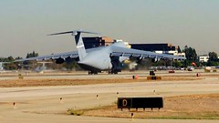 C-5 Takeoff ( 2 of 4 ) (Konabish ~ Greg Bishop) Tags: aircraft aviation transport screencapture usaf takeoff runway klgb c5galaxy longbeachairportcalifornia 019mov