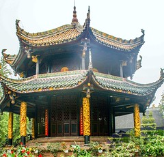 Green Goat Palace, ChungDu, China, (Do not display this photo for any political propaganda. 严禁用此照片为政治宗教服务)
