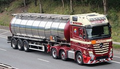 MB Actros MP4 - WILLIAM NICOL Tankers Aberdeen (scotrailm 63A) Tags: lorries trucks tankers