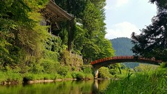 in Hiroshima prefecture, Japan (Ripeporksta 2014) Tags: hiroshima bridges japan summer