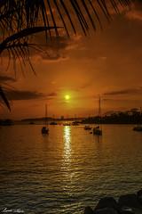 Sunset Shades (Bernai Velarde-Light Seeker) Tags: sunset colors shades sea sailboats atardecer central centro america pacific pacifico ocean oceano mar bernai velarde panama