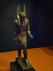 Bronze Figurine of Anubis Egypt 26th Dynasty - Ptolemaic Dynasty Late Period - Ptolemaic Period 664-32 BCE (mharrsch) Tags: figurine bronze statue sculpture anubis god deity religion worship funeraryart 26thdynasty ptolemaicdynasty lateperiod ptolemaicperiod egypt ancient nelsonatkinsmuseum kansascity missouri mharrsch