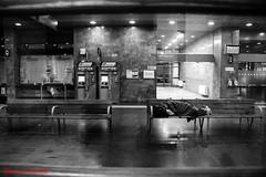 stazione3 (Giovanni Coccoli 75) Tags: street notturni vita poverta poveri barboni stazione ferroviaria messina riposo dormire ombre