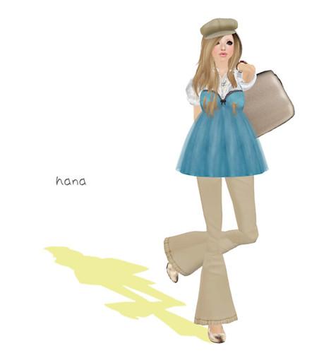 *Honey*Soul Doll-Dress-Sky-Blue(Group-Gift)