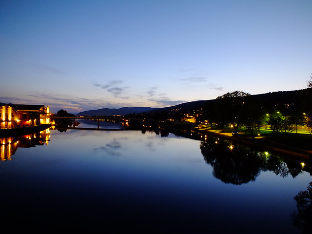 Drammen at Night 1