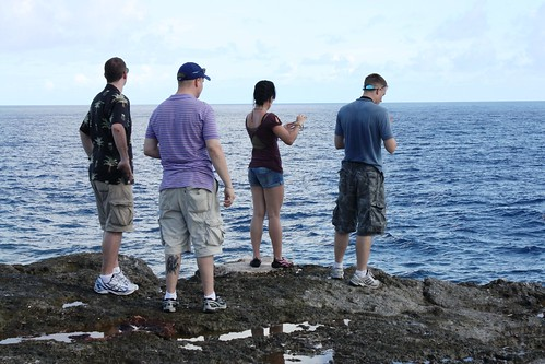 Cowpens Takes a Break in Saipan