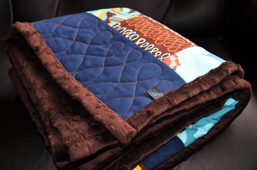 Mod Green Pod Blanket