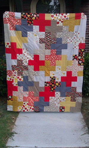plus quilt by valerie-in-wonderland
