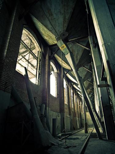 Silo 5 Interior - elevator B