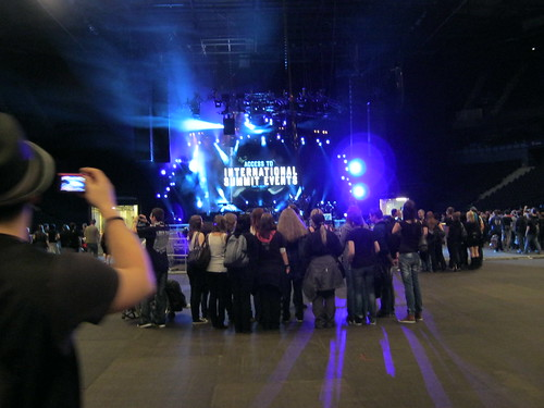 Linkin Park stage - Take a photo