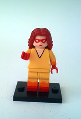 Firestar with Arealight torso (burakki62) Tags: lego spiderman iceman minifig custom firestar spidermanandhisamazingfriends