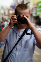 Photographer In Action!!! (pankaj.anand) Tags: canon bangalore commercialstreet anand pankaj photographerinaction 550d t2i pankajanand18