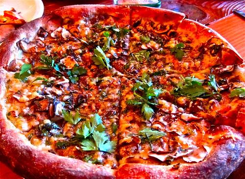 Shaved Mushroom Pizza