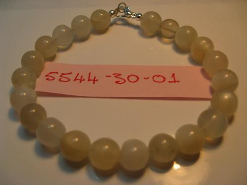 Sterling Silver Moonstone Gemstone Bracelet