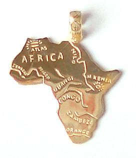 pingente ouro mapa africa (4 de 11) (paulopandolfe) Tags  glamour arte 5895140e07