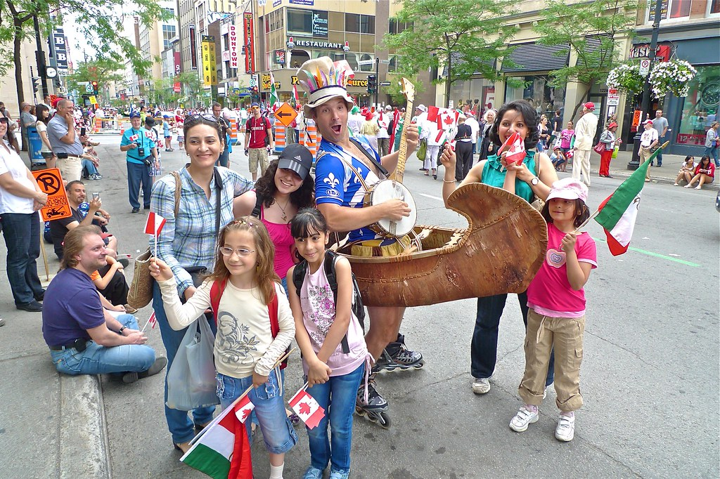 Copyright Photo: Coureur de Bois - Canada Day Parade 2011 - Montreal by Montreal Photo Daily, on Flickr
