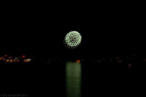 canada day 2011 toronto. Fireworks - Canada Day 2011