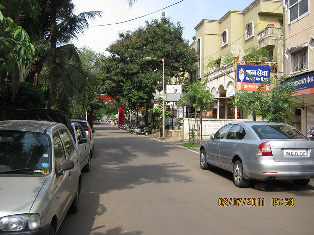 Suvarna Nagari Path from Pate Developers' Kimaya, 2 BHK Flats, to Swami Vivekanand Road, Bibwewadi, Pune 411 037