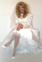 Bridal Gown 101 (xgirltv1000) Tags: wedding drag bride tv dress transformation cd makeup tgirl transgender tranny transvestite brides makeover bridal dragqueen transgendered crossdresser crossdress tg travesti tranvestite travestie transformista transgenger