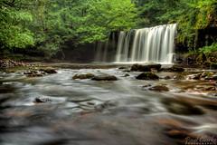 Waterfall (Axleuk) Tags: water wales river waterfall density neutral 450d nd9 glynnneath