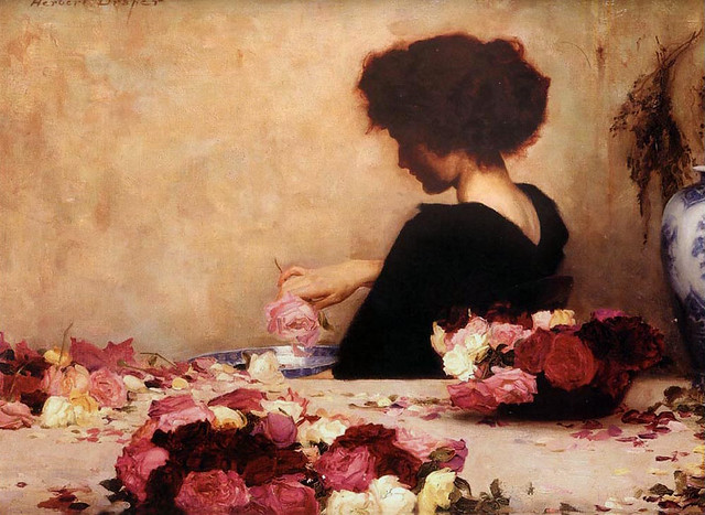 "Herbert James Draper  ""Pot Pourri"" 1897"