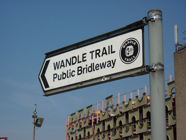 Wandle Trail sign