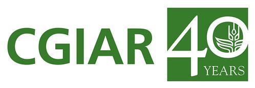 CGIAR 40-year logo