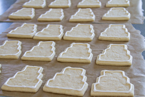 Decorated Wedding Cookies - 1