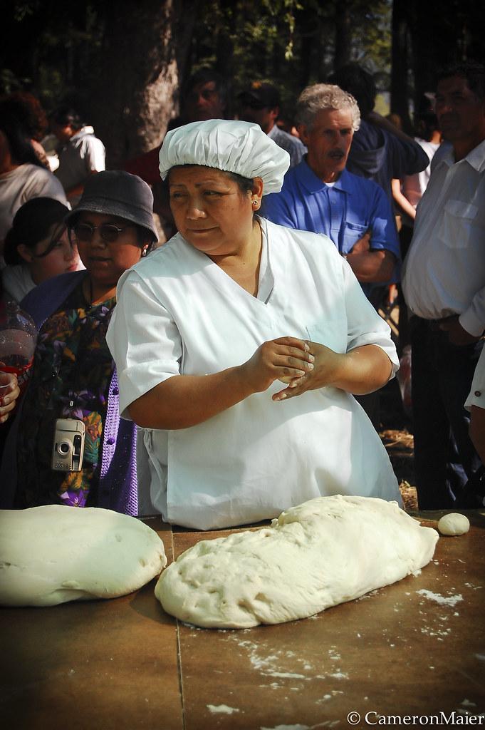Chilean Tortilla Making Contest