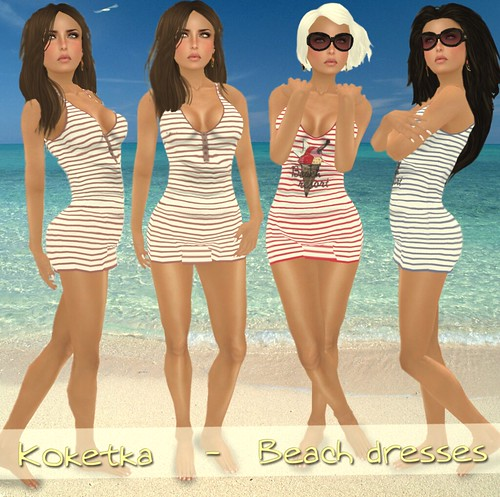 Koketka Beach dresses