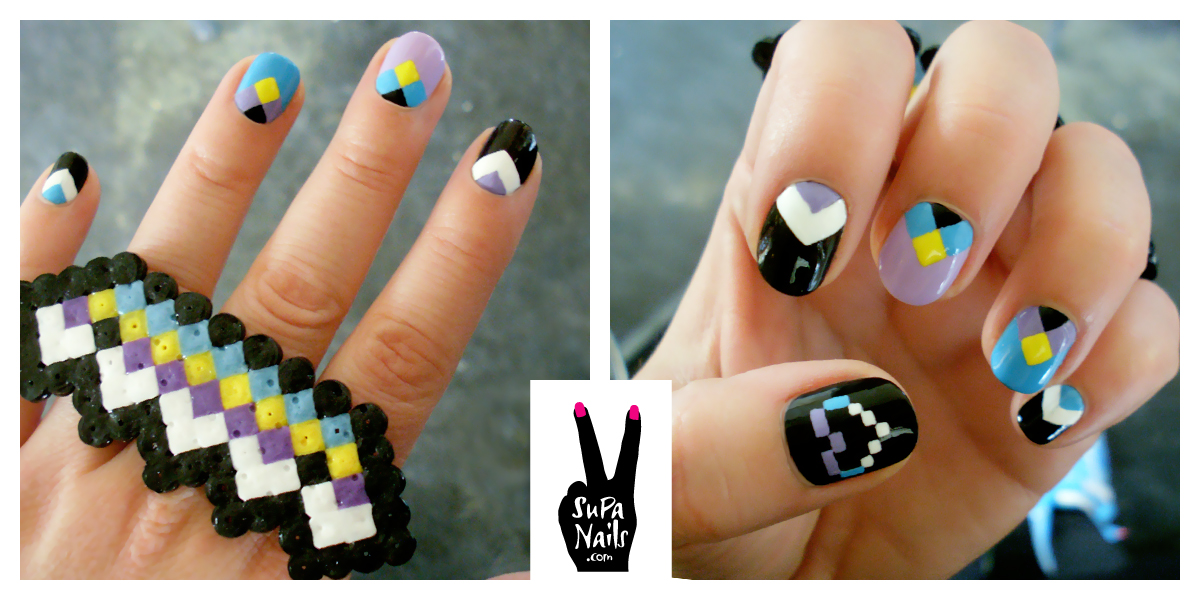 Fuck yeah nail art supanails supa hearts pixel receiving presents from my fans is simply the best prinsesfo Gallery