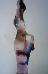 (Tsuyoshi Imamura) Tags: color ink women  femele