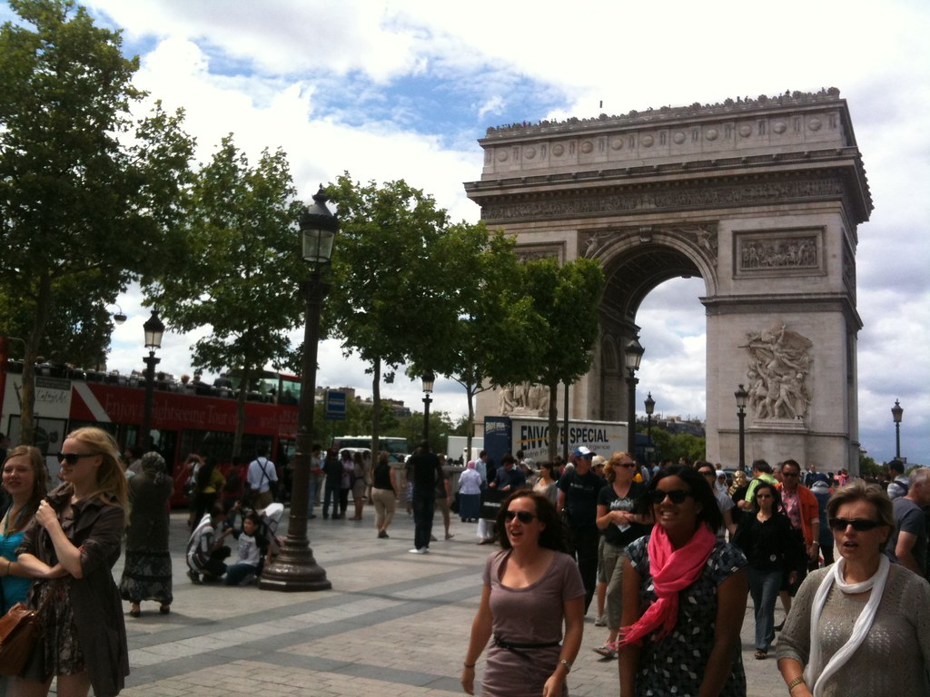 Photo of the Day: L'arc de Triomphe