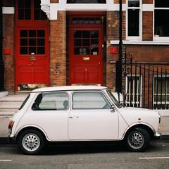 Mini (Chi Bellami) Tags: colour slr film 35mm automobile minolta scan negative scanned fujifilm x700 c200 fujicolor c41 chibellami