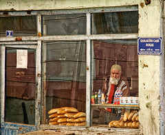 yt3 (alper araz) Tags: life street old portrait people man adam window turkey markets human elderly sing older grocery breads beyaz bearded portre erzurum insan sokak anatolian alper hac yaam ekmek sakal araz bakkal singboard yal tabelas