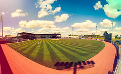 Panoramic of Trustmark Park in Pearl, Mississippi (Tate Nations) Tags: mississippi baseball stadium panoramic pearl aa ballpark minorleague mississippibraves trustmarkpark