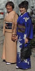Kimono ladies (bokage) Tags: japan sweden stockholm kimono kungstrdgrden norrmalm kungsan bokage