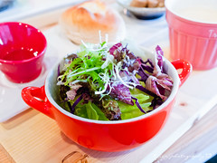 沙拉 (紅襪熊(・ᴥ・)) Tags: food olympus brunch taichung lesson zuiko e30 美食 台中 1454 goodly 早午餐 lessongoodly