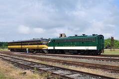 Southern Reunion (The Mastadon) Tags: railroad museum train nc cab north rail transportation carolina locomotive spencer streamline streamliner