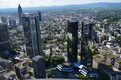 Frankfurt am Main aus dem Main Tower fotografiert (a.renate) Tags: deutschland hessen frankfurtammain maintower arenate nikond5100