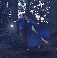 the children who found rescue (Thomas Oscar Miles) Tags: blue light inspiration photoshop photography nikon magic fineart levitation darkart conceptualphotography