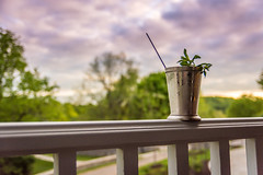 Juleps on the Front Porch (Tyler Bliss) Tags: sky tree ice oak drink kentucky ky barrel mint reserve porch tasting bourbon derby woodford julep woodfordreserve tylerbliss