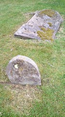 Footstone for White? headstone