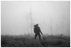 selfie :) (Spartaxus) Tags: bw fog analog kodak tmax