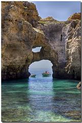 PORTUGAL, LAGOS (Lorenmart) Tags: portugal marina lagos lugares turismo cuevas elalgarve canoneos550d lorenmart